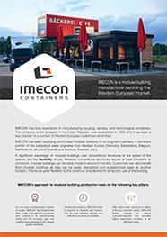 Imecon Flyer EN
